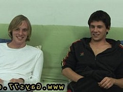 Naked gay boy wrestling and grabbing cock As Corey sat beside John