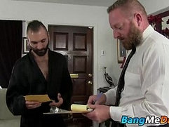 Ethan Palmer offers his asshole to Dalton Hawg as a payment