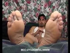 Latino Gay foot