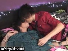 Hot gay Boyfriends Dakota Shine Tantrum Desire smash for us this