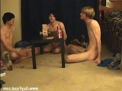 Skinny gay boys show ass movies Trace and William get together with