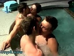 Gay twinks fucks dads movietures Jacuzzi Piss Four Way Boys