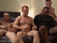 Great Young Studs Group Orgy