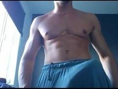 Maduro casado de gym su verga enorme en cam