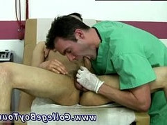 Gay medical by male doctor and guy gets blow job by doctor Myles
